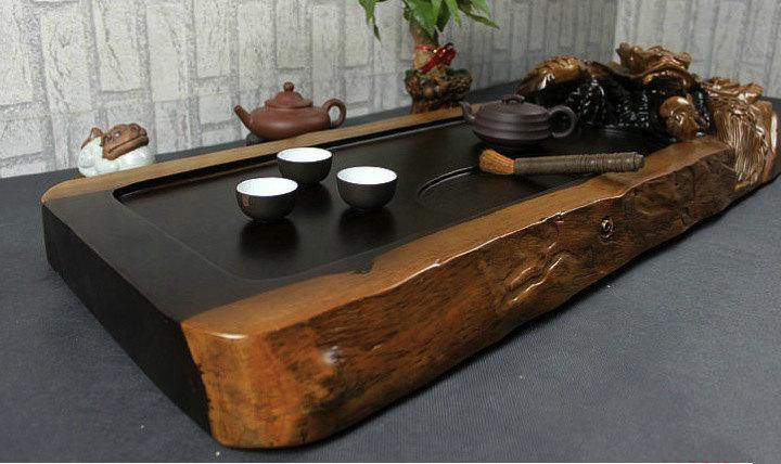 Ebony Wood Tea Tray Displaying And Serveing Tea Tea Tray