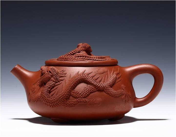 Duilong Shipiao Teapot Chinese Congou Teapot Yixing Pottery Handmade Zisha Clay Teapot Guaranteed 100%Genuine Original Mineral Fired