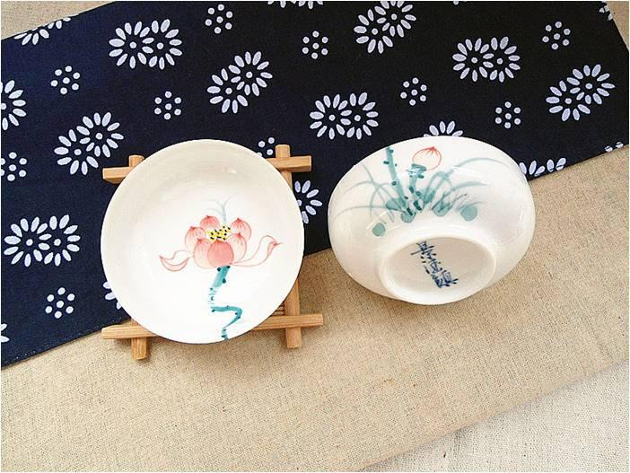 9 Hand-Drawing Flowers Pattern Blue And White Ceramic Tea Cup Chinese Blue And White Porcelain Tea Set Chinese Style Ceramic Teaware