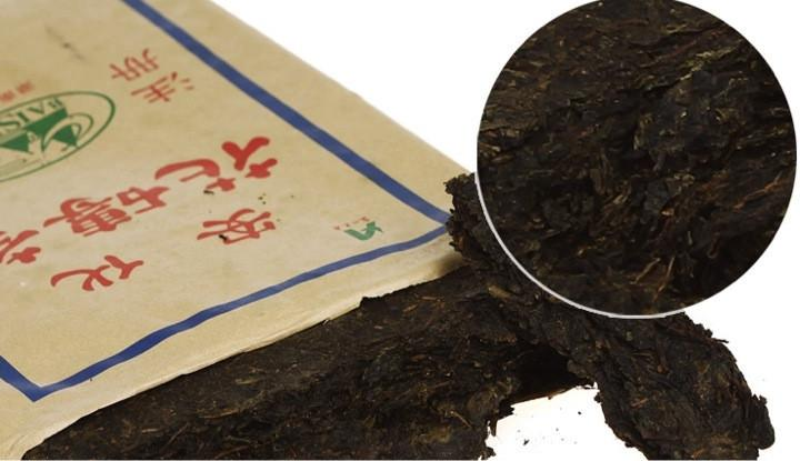 Hunan Dark Tea-Flower Brick Tea