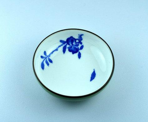 4 hand painting flowers pattern blue and white ceramic tea cup 4 hand painting flowers pattern blue and white ceramic tea cup chinese blue and white mightylinksfo