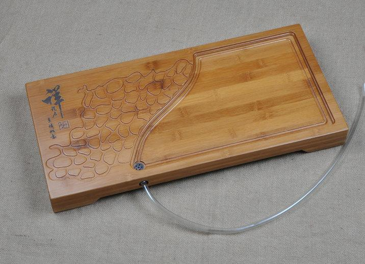 Bamboo Tea Tray Displaying And Serveing Tea Tea Tray Handicraft Chinese Congou Tea Set Chinese Teaism Practice.