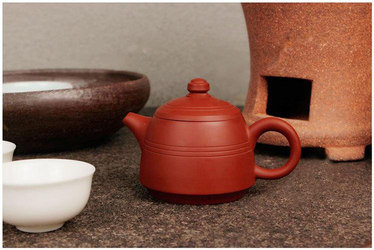 Zhu Ni Shou La Teapot Chao Zhou Pottery Handmade Red Clay Teapot Chinese Gongfu Teapot Guaranteed 100%Genuine Original Mineral Fired