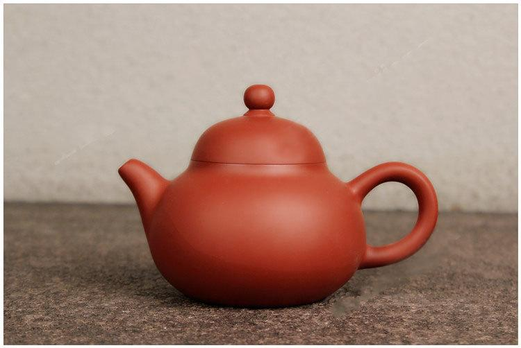 Pear Shape Teapot Zhu Ni Shou La Teapot Chao Zhou Pottery Handmade Red Clay Teapot Guaranteed 100%Genuine Original Mineral Fired