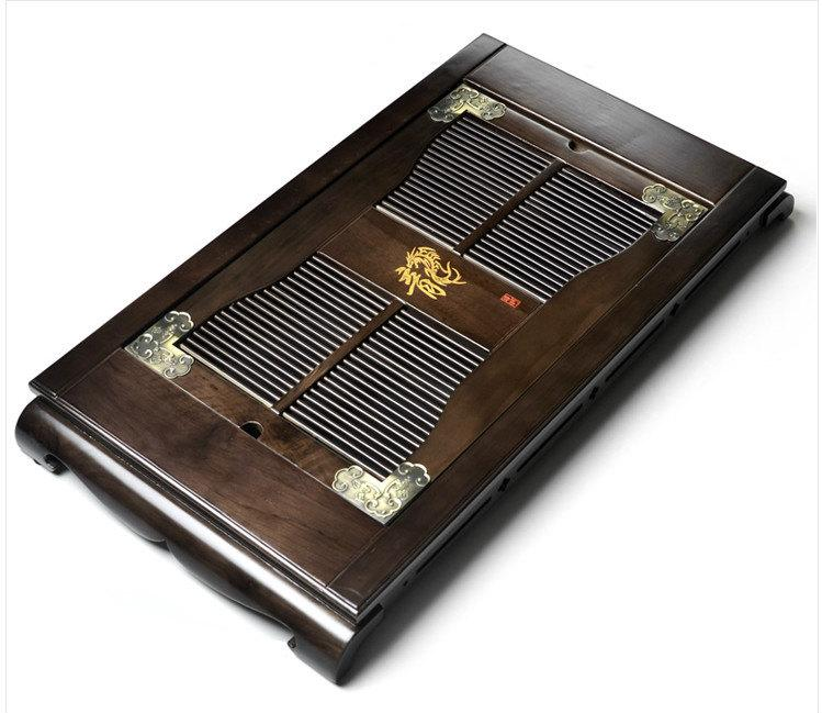 Castanopsis Cuspidate Wood Tea Tray Displaying And Serveing Tea Tea Tray Handicraft Chinese Kung-Fu Tea Set Chinese Teaism Practice.