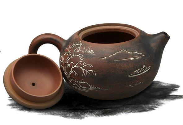 Ni Xing Pottery Teapot Premium And Treasure Tea Pot Handmade Teapot Guaranteed 100%Genuine Original Mineral Fired