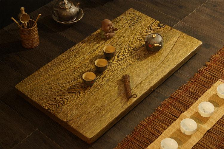 Wenge Tea Tray Displaying And Serveing Tea Tea Tray Handicraft Chinese Kung-Fu Tea Set Chinese Teaism Practice.