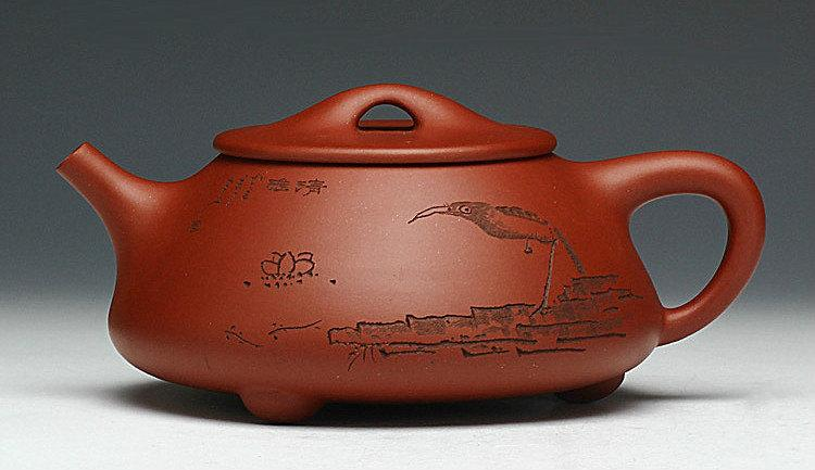 Mang Shi Piao Teapot Premium And Treasure Tea Pot Yixing Pottery Handmade Zisha Clay Teapot Guaranteed 100%Genuine Original Mineral Fired