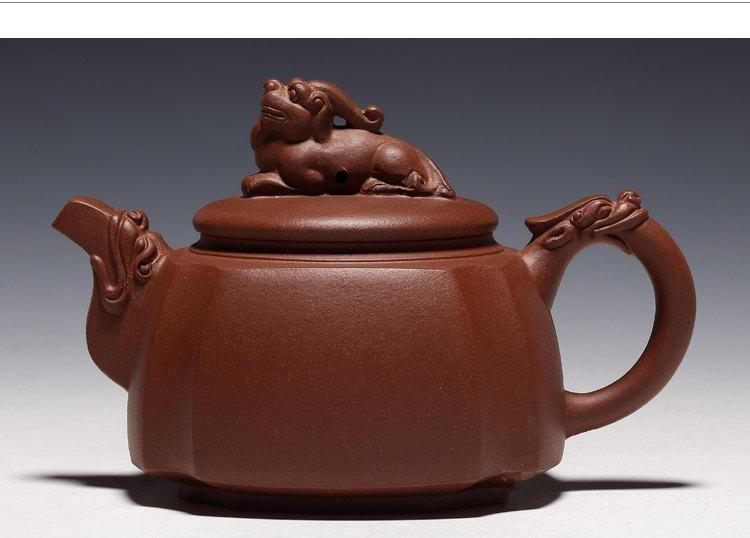 Shou Ming Teapot Yixing Pottery Handmade Zisha Clay Teapot Guaranteed 100%Genuine Original Mineral Fired
