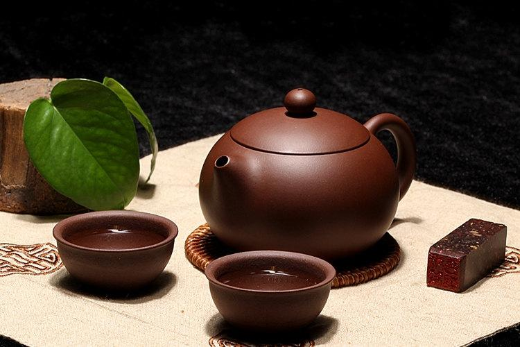 A Set Of Zisha Clay Teapot And Cups Premium And Treasure Handmade Zisha Clay Teapot Guaranteed 100%Genuine Original Mineral Fired